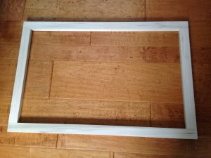 Custom made wood frame 20*30