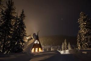 Домик в природном парке «Ергаки», Красноярский край.