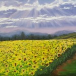 """The sunflower field"" 20*30"