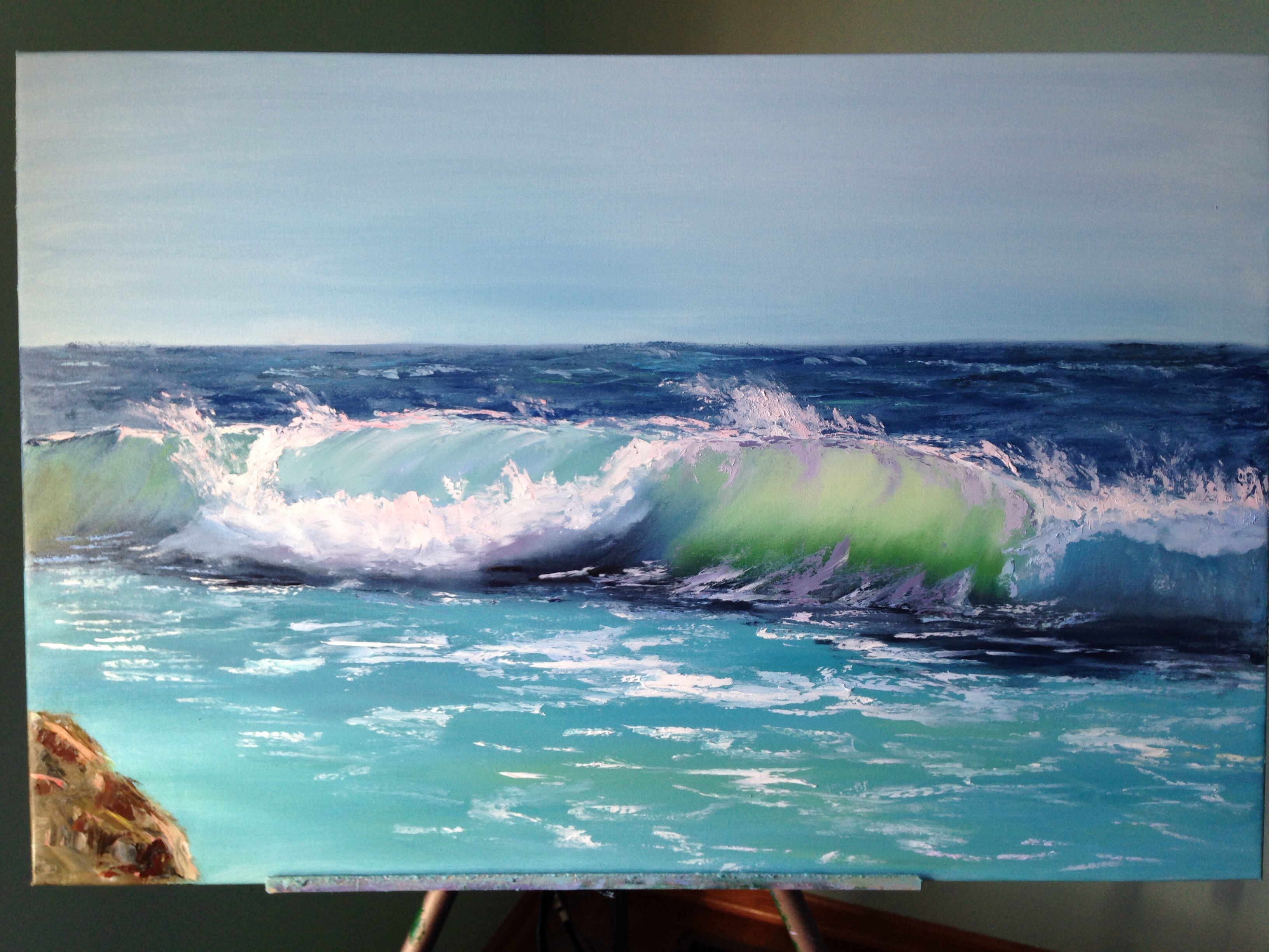 Sea vitality i learn painting for Www painting com