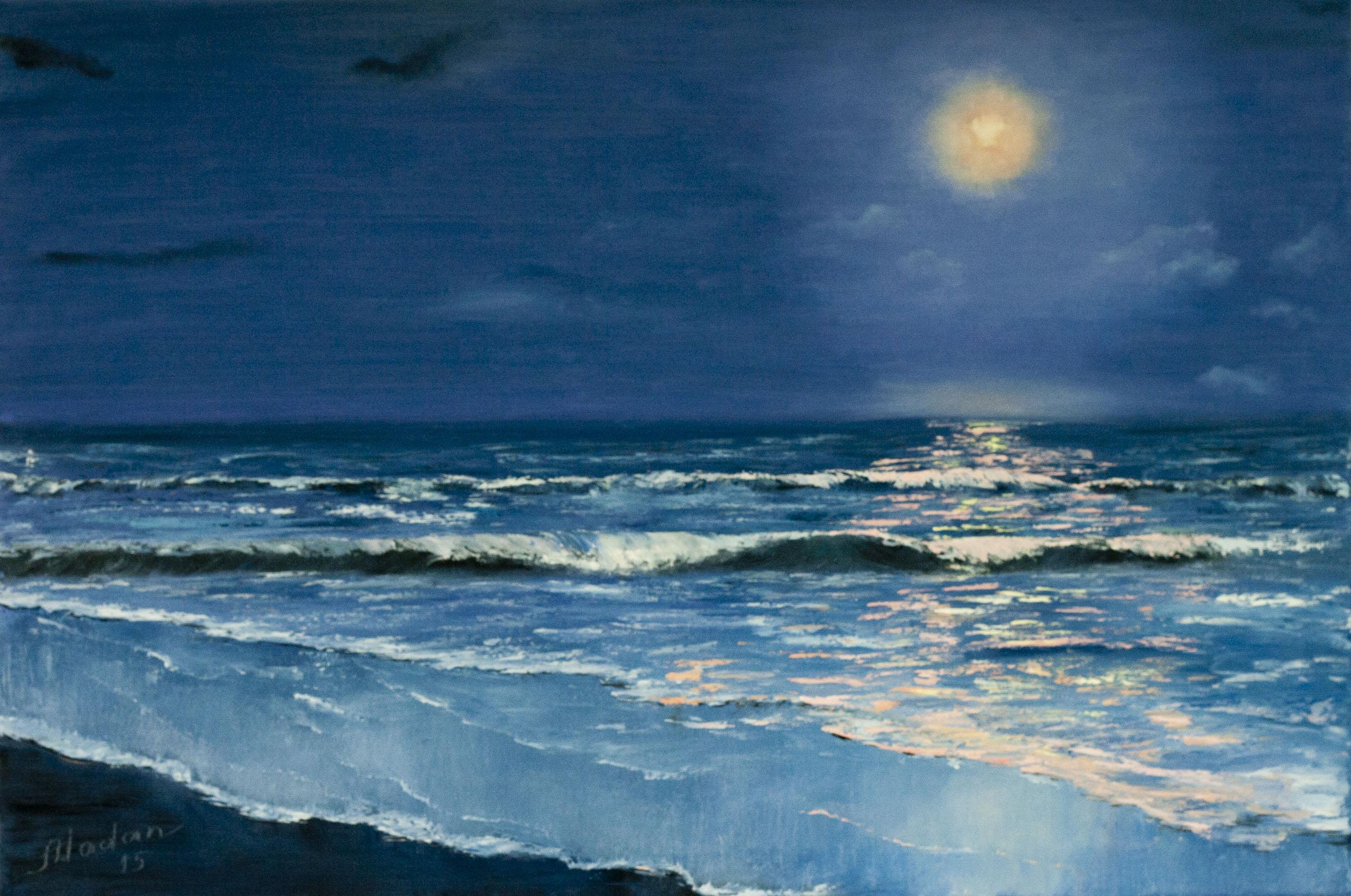Moonlight sonata | I Learn Painting