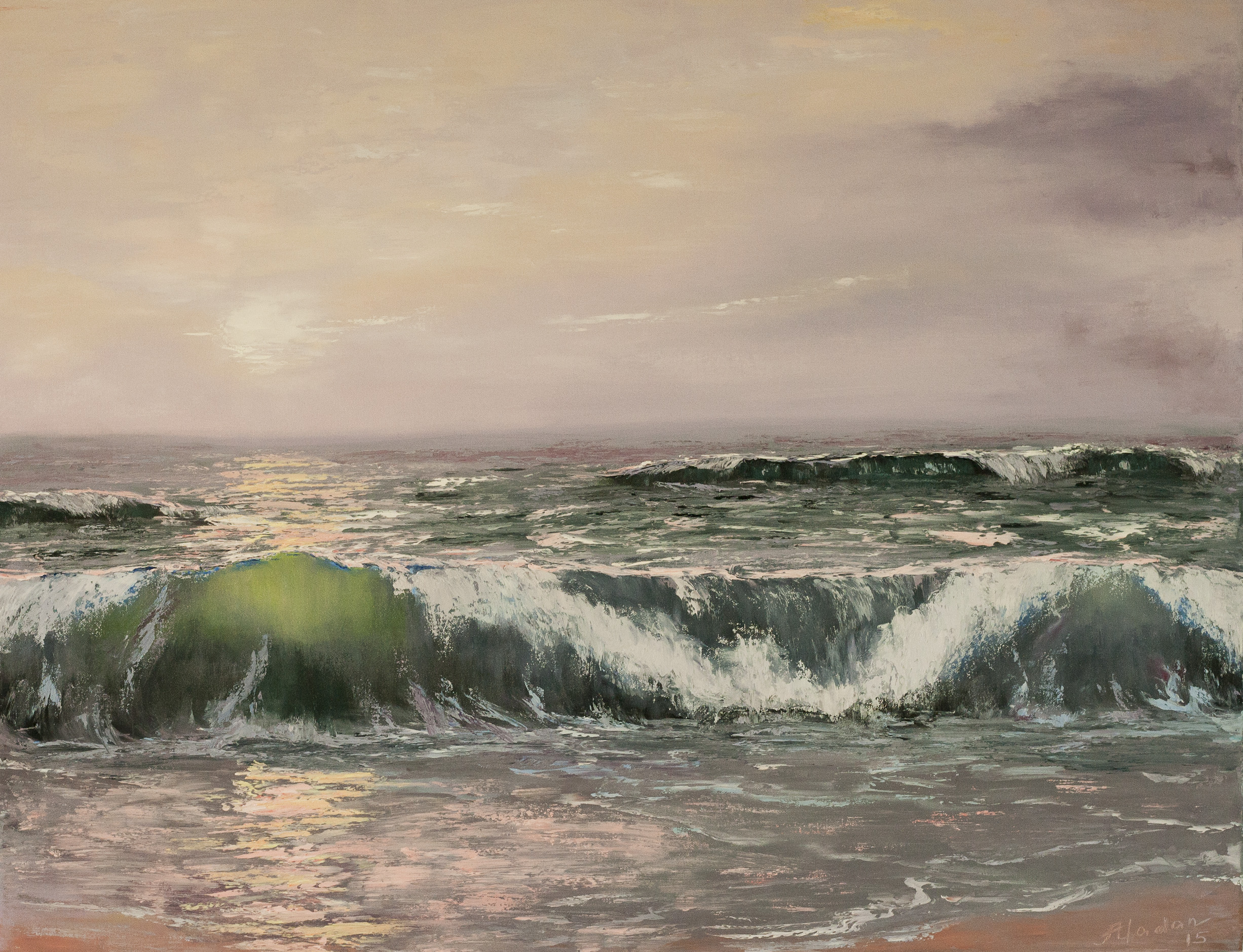 The grand sea i learn painting for Www painting com
