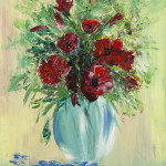 """Poppies in the vase"" 9*12"