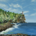 """Split Rock lighthouse"" 12*12"