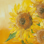 """Sunflowers sunshine"" 9*12"