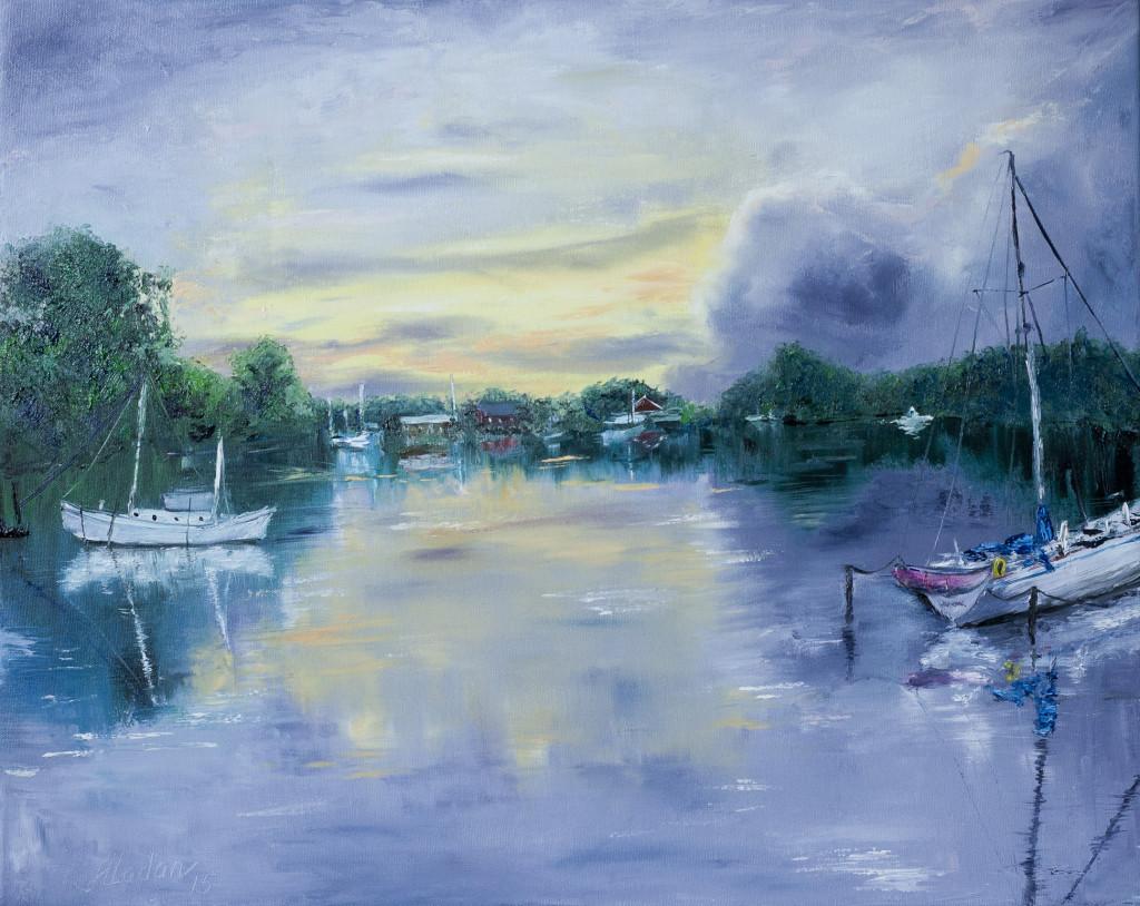 Boat lagoon 16*20