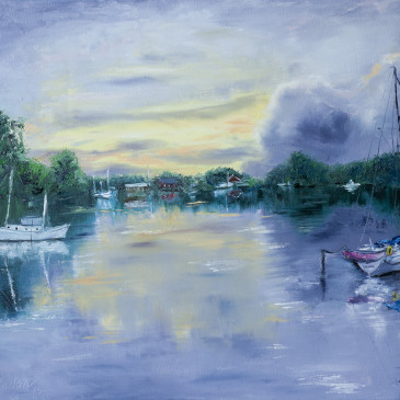 The boat lagoon
