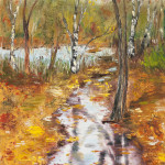 """""""Fall alley"""" 12*18"""