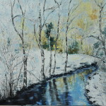 Winter river 16*20