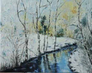 Winter river 12*18